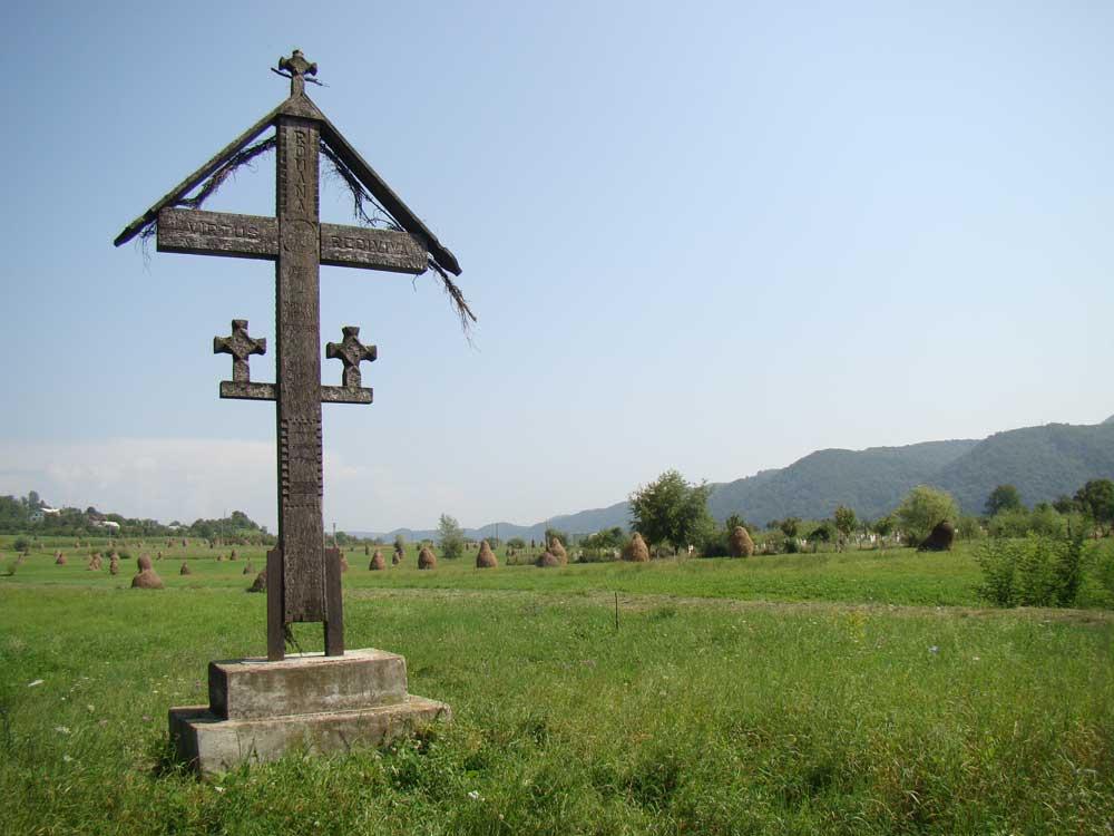 Crucea-din-locul-numit-La-mocirla-in-Salva-unde-au-fost-trasi-pe-roata Sfintii Martiri Nasaudeni