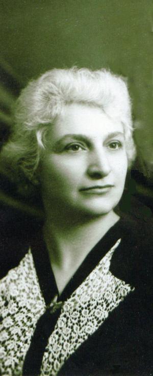 Doamna Aspazia Otel Petrescu - Portret