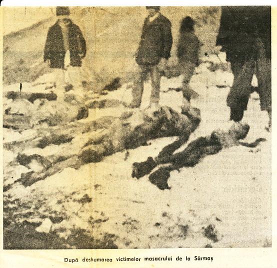 Masacrul anti-romanesc de la Sarmas comis de unguri