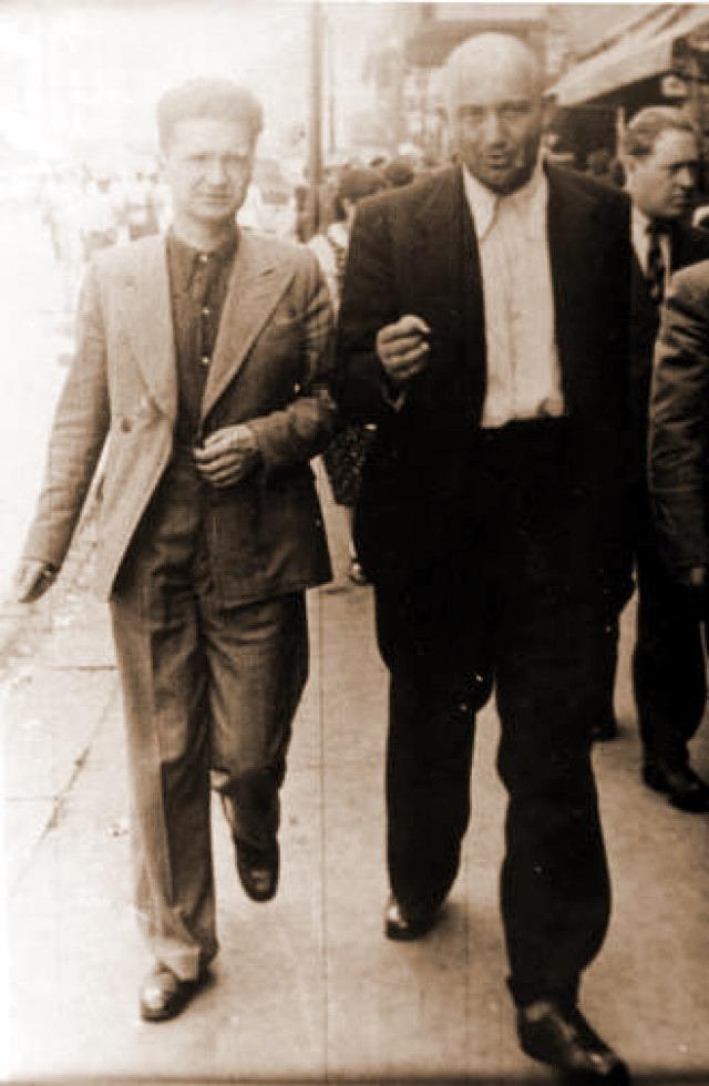 Eml Cioran si Petre Tutea in Bucuresti inainte de ocupatia comunista a Romaniei
