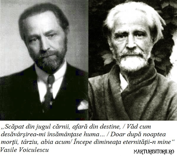 Vasile Voiculescu Marturisitorii Ro