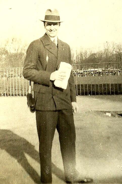 Mircea Vulcanescu la hipodrom