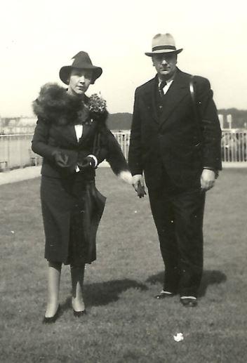 Mircea Vulcanescu si Margarita Vulcanescu