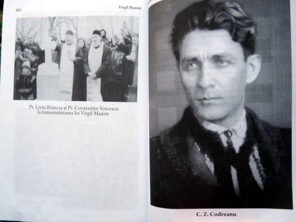 P Livoiu Branzas si P Const Voicescu - Inmormantare Virgil Maxim Fotografii de Arhiva din cartea Imn pentru Crucea Purtata Ed 3 Ed Babel 7