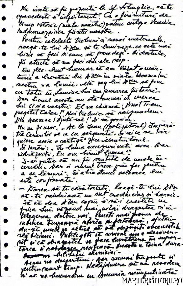 Testamentul lui Virgil Maxim catre fiica sa Tatiana - Marturisitorii Ro 2