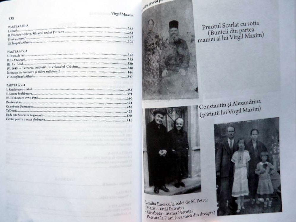Virgil Maxim Fotografii de Arhiva din cartea Imn pentru Crucea Purtata Ed 3 Ed Babel 1