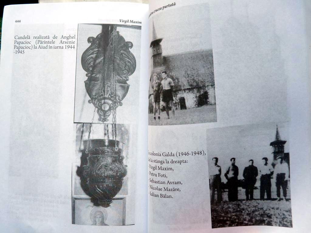 Virgil Maxim la Galda si Candela P Arsenie Papacioc Fotografii de Arhiva din cartea Imn pentru Crucea Purtata Ed 3 Ed Babel 3