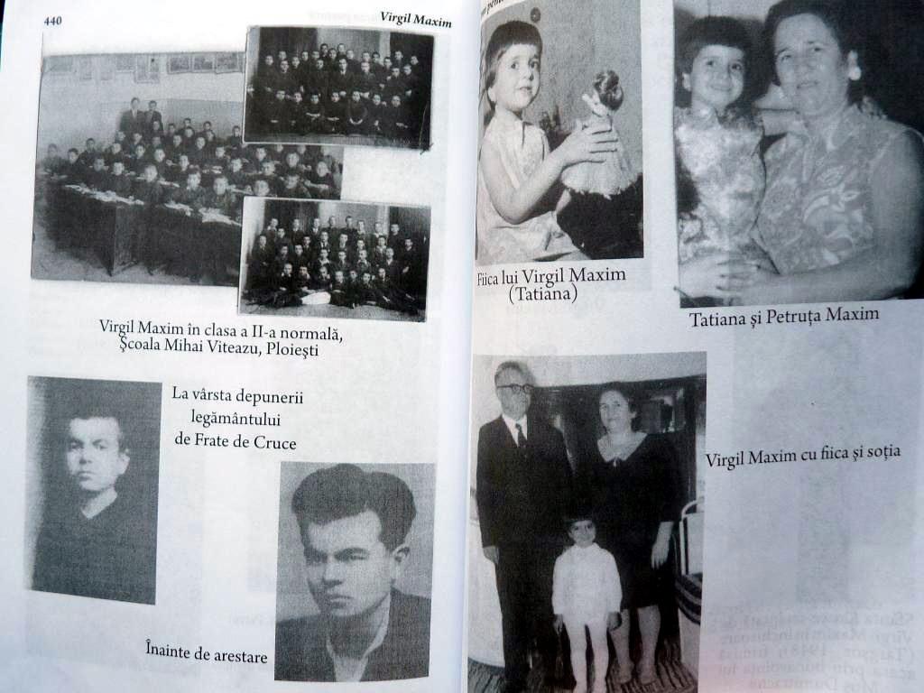 Virgil Maxim si Familia sa Fotografii de Arhiva din cartea Imn pentru Crucea Purtata Ed 3 Ed Babel 1