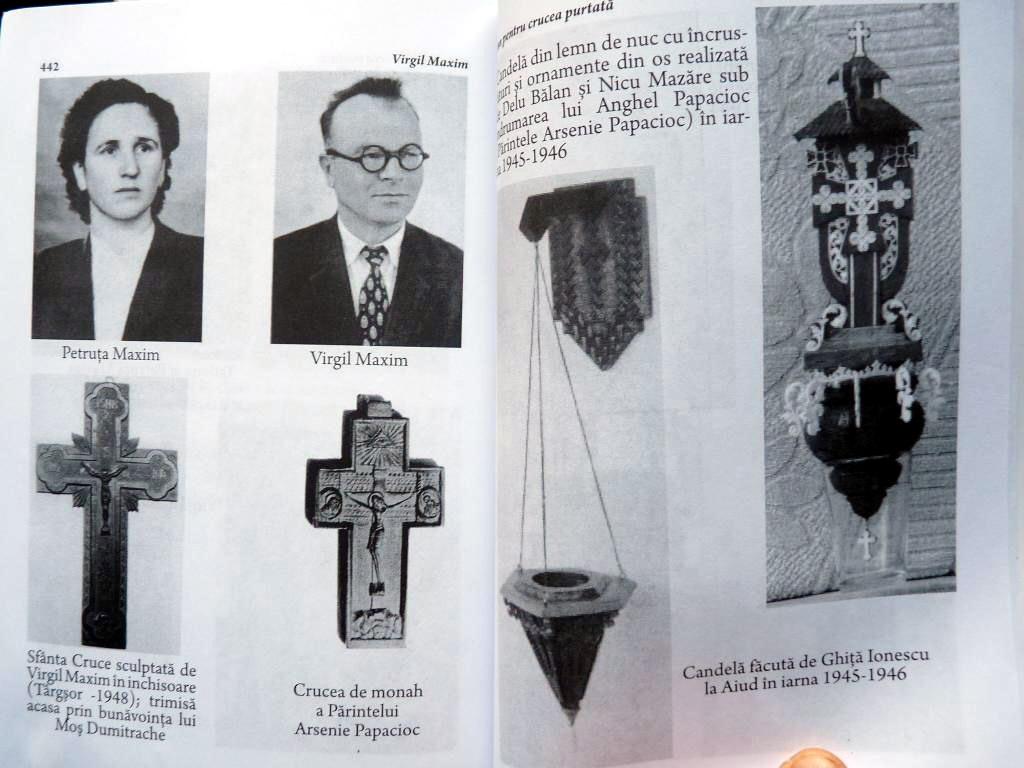 Virgil si Petruta Maxim Fotografii de Arhiva din cartea Imn pentru Crucea Purtata Ed 3 Ed Babel 2