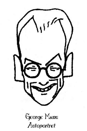 Gheorghe George Manu Autoportret