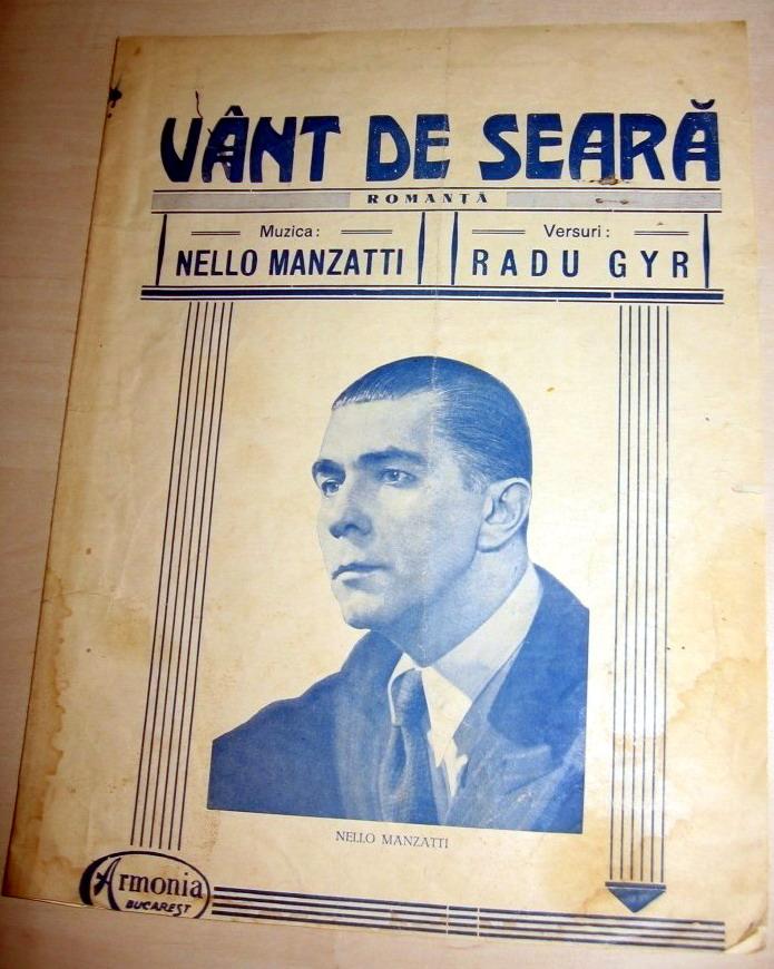 Vant de Seara Radu Gyr Nello Manzatu