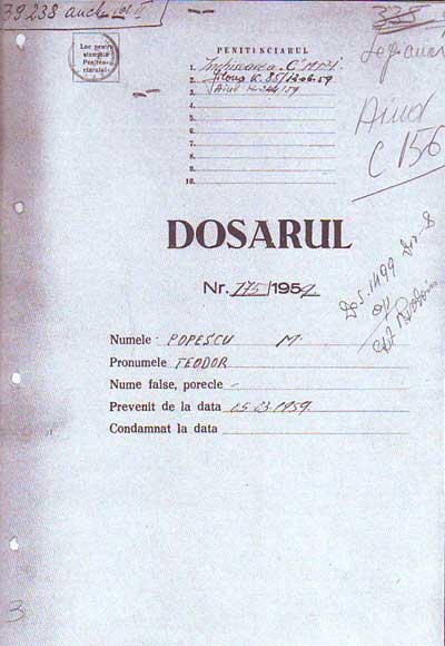 Dosar CNSAS Teodor M Popescu