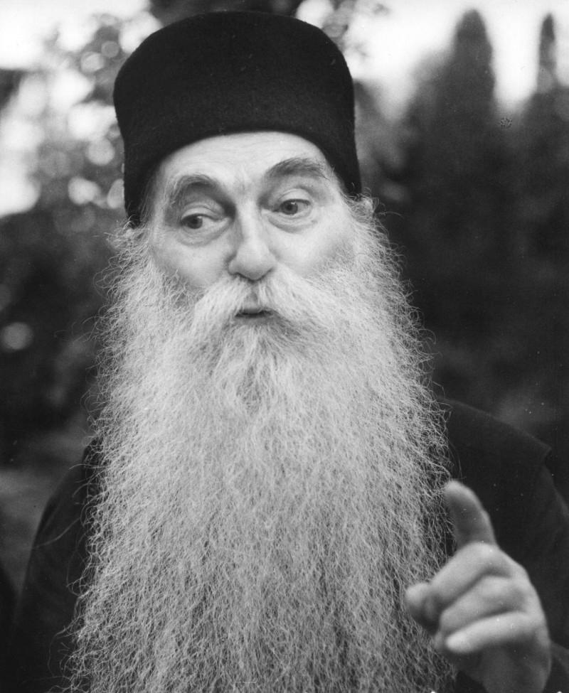 Parintele Arsenie Papacioc la 90 de ani