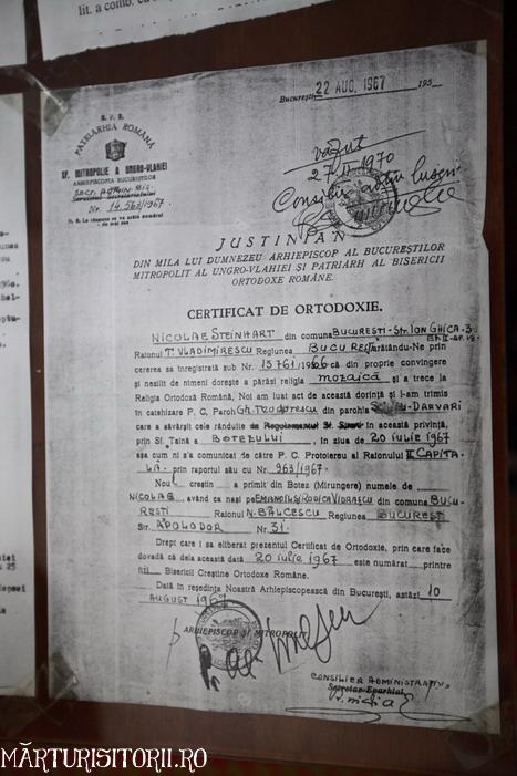 Acasa la Monahul Nicolae Steinhardt de la Rohia - MARTURISITORII RO 5522a