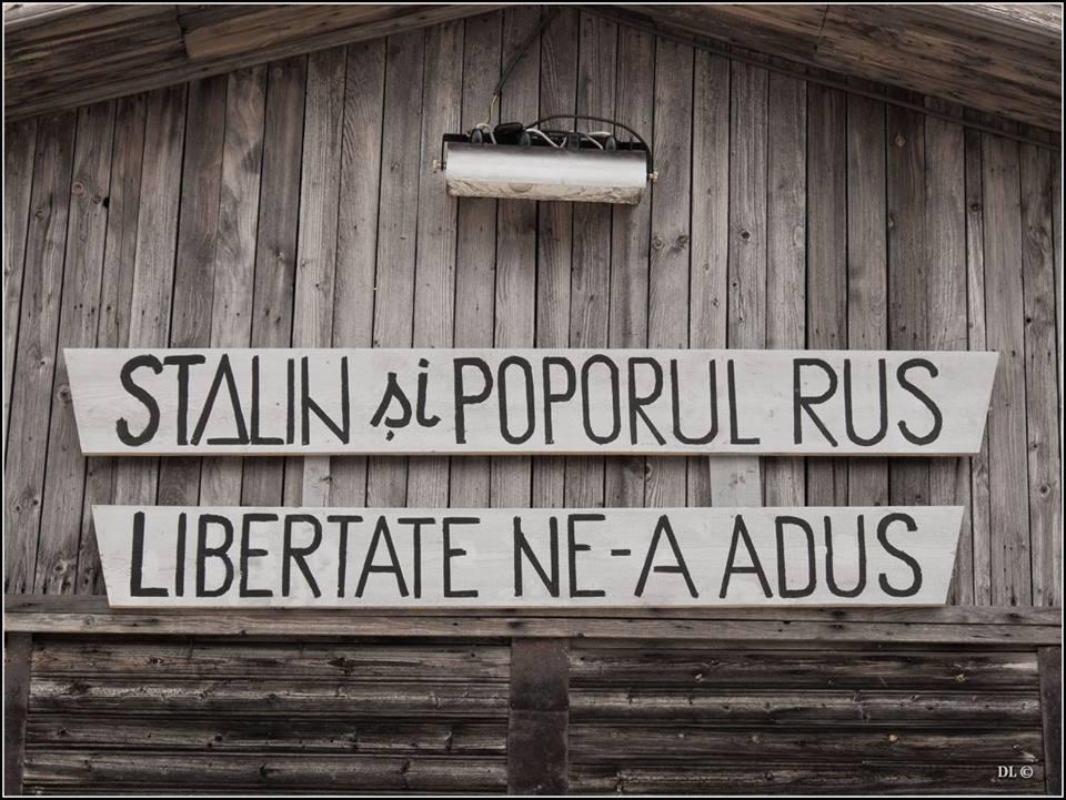 8 Stalin si poporul rus libertate ne-au adus - Foto Dinu Lazar - Poarta Alba