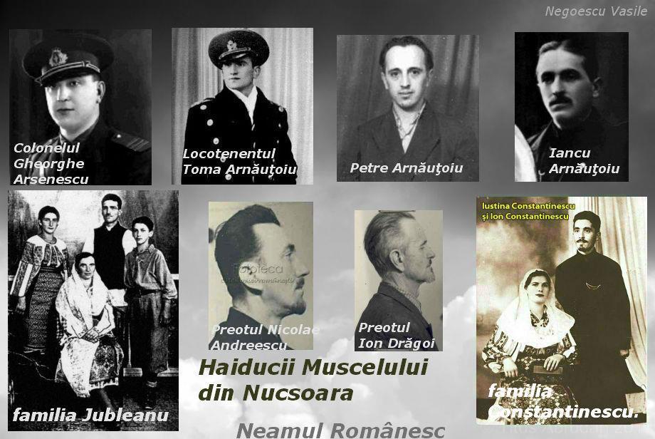 Haiducii Muscelului din Nucsoara - Col Arsenescu lt Arnautoiu