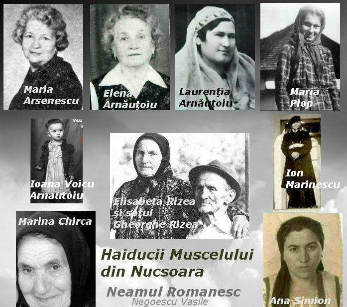 Haiducii Muscelului din Nucsoara - Elisabeta Rizea - Arnautoiu