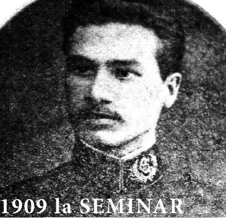 Nichifor Crainic la Seminar - 1909 - Florin Dutu - Marturisitorii Ro