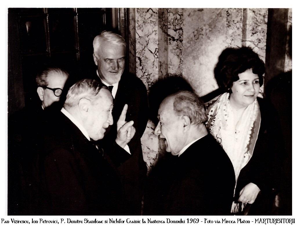 Pan-Vizirescu-Ion-Petrovici-Dumitru-Staniloae-Nichifor-Crainic-24-decembrie-1969-Arhiva-Mircea-Platon-Mareturisitorii Ro
