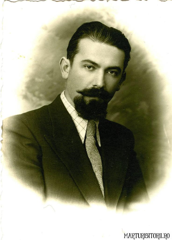Virgil Mateias inainte de inchisoare