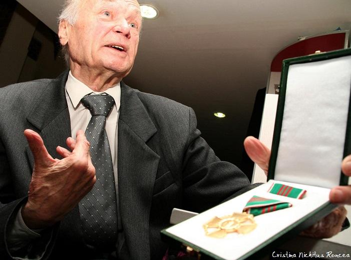 Raul Volcinschi medaliat pentru 1956 doar de Ungaria - Foto Cristina Nichitus Roncea