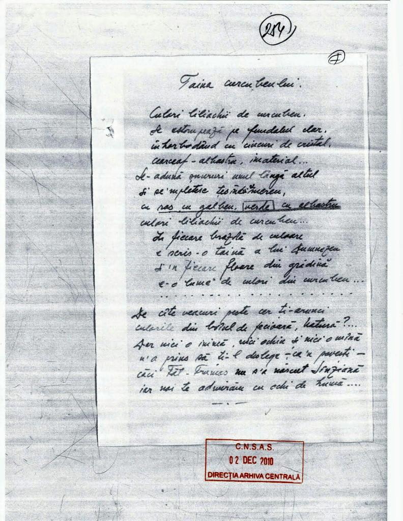 Caiet 7 Virgil Maxim - Poem - Taina Curcubeului