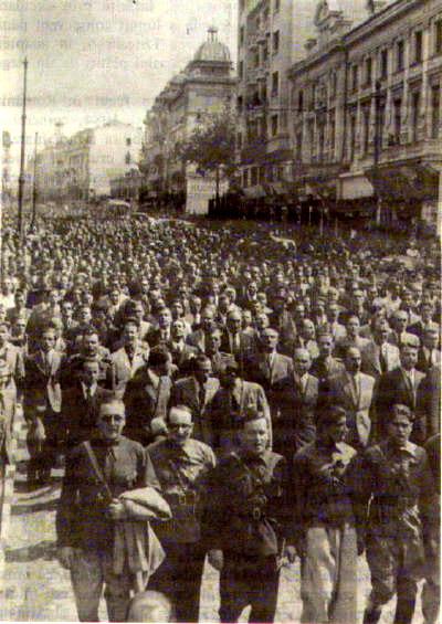 Manifestatie Legionara cu Radu Gyr