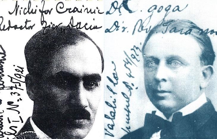 Nichifor Crainic si Octavian Goga - ziaristi