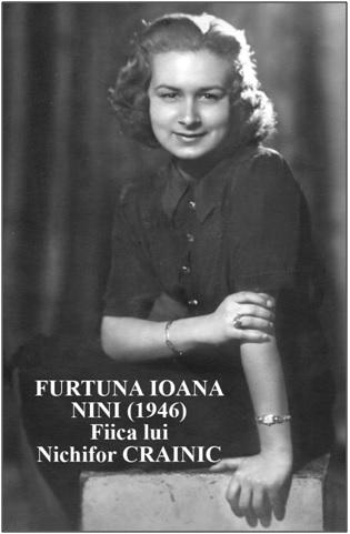 Fortuna Ioana, fiica lui Nichifor Crainic - Marturisitorii - Florin Dutu