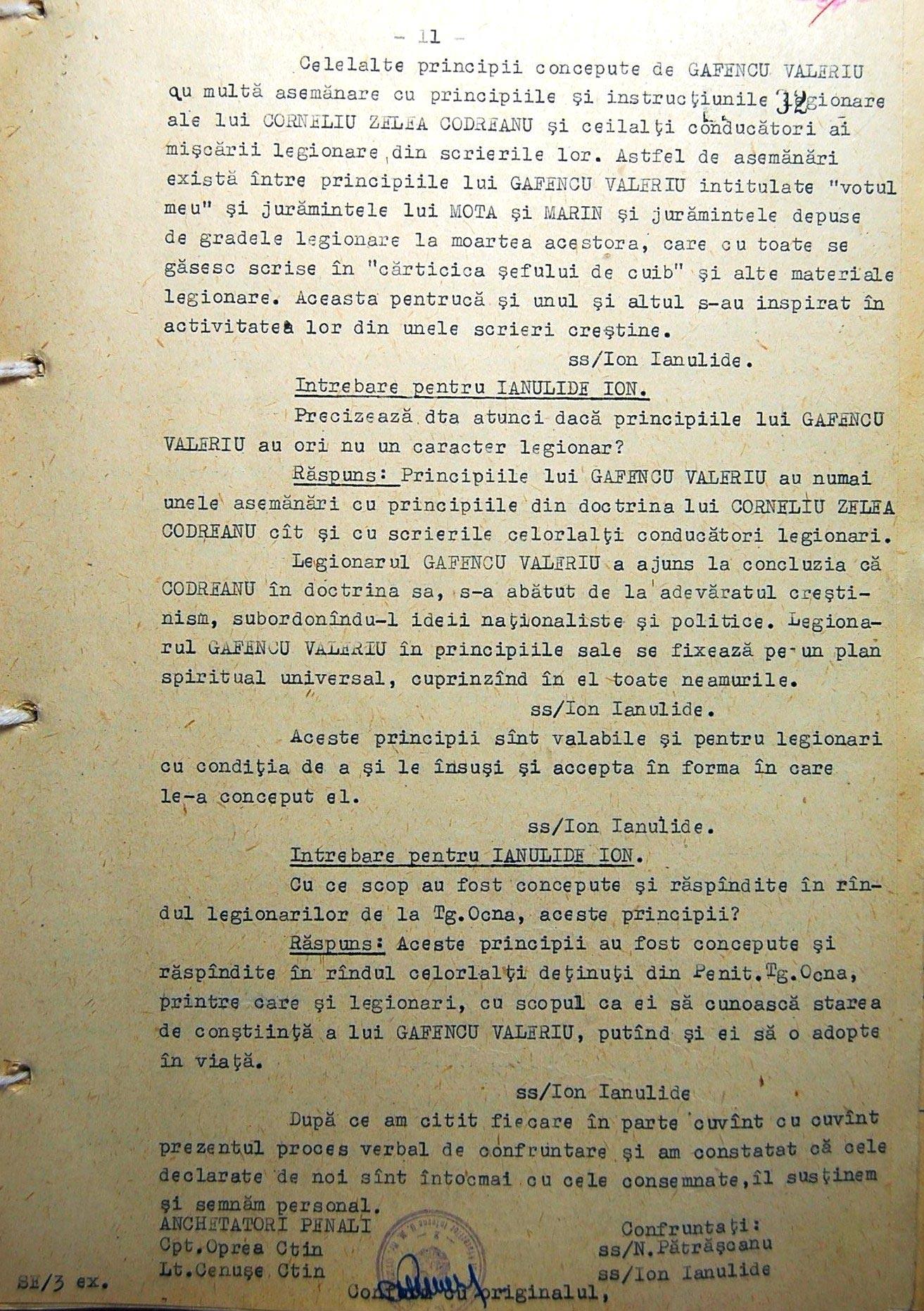 Marturii Ion Ianolide CNSAS 2