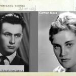 In Memoriam Carmen Bjoza, soţia preşedintelui AFDPR. O dragoste de 60 de ani!