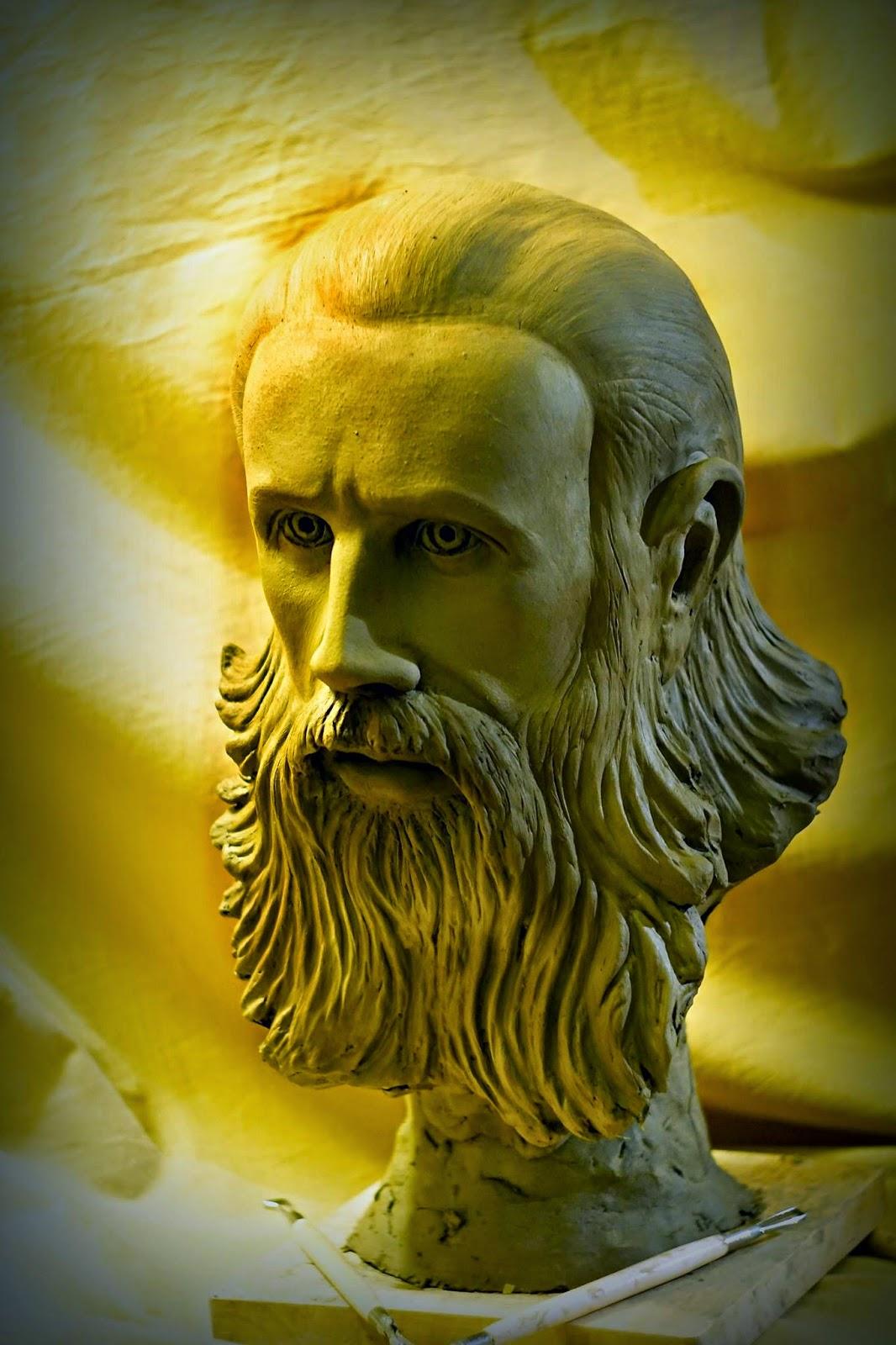 Parintele Aresenie Boca - de sculptorul Iulian Postolache 3
