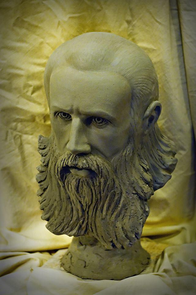 Parintele Arsenie Boca - de sculptorul Iulian Postolache 2