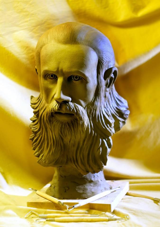 Parintele Arsenie Boca - de sculptorul Iulian Postolache 4