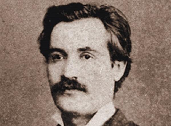 Mihai Eminescu - 1878 - Fotografia Societatea Junimea - Photography Studio Ro