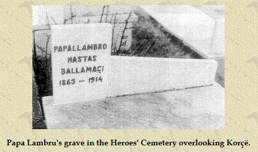 Mormantul lui Papa Lambru Haralambie Balamace