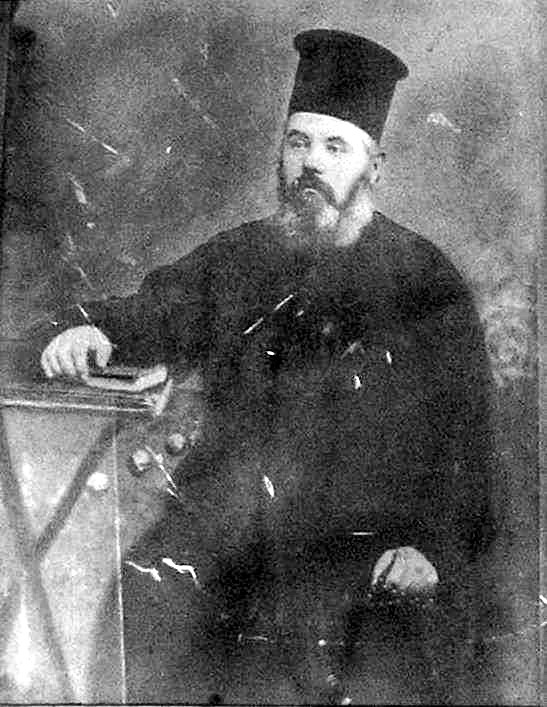 Preotul aroman Haralambie Balamaci Papa Lambru, martirizat de antartii greci la 23 martie 1914