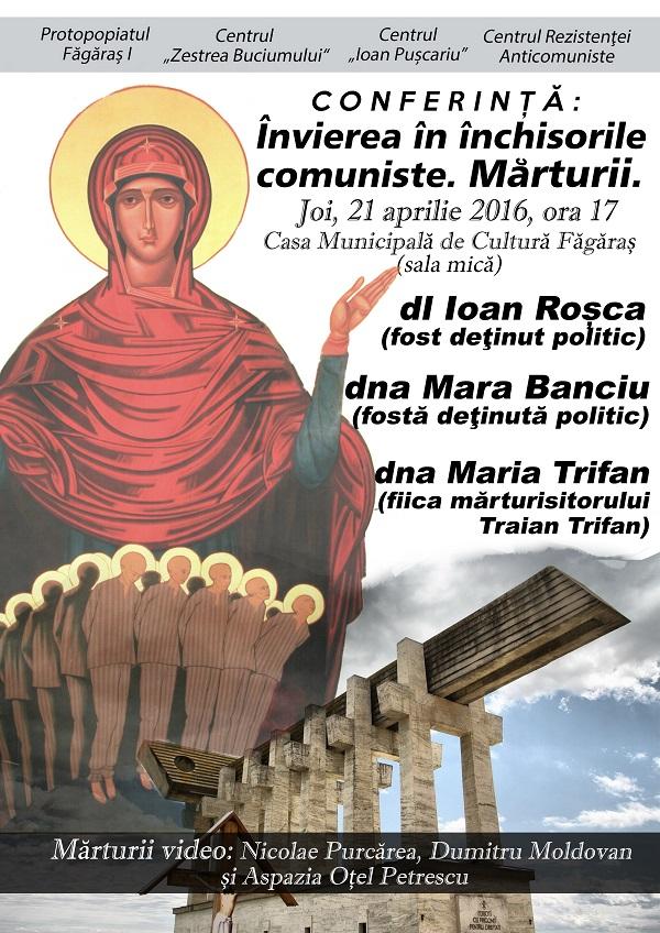 Afis-conferinta-Invierea Domnului in Inchisorile comuniste