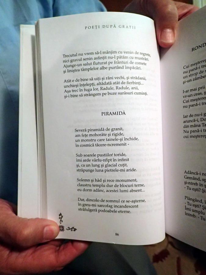 PRIAMIDA - Ultima poezie a lui Radu Gyr