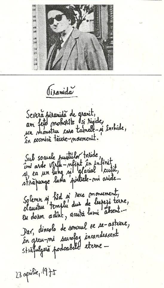 Piramida de Radu Gyr - Ultima Poezie