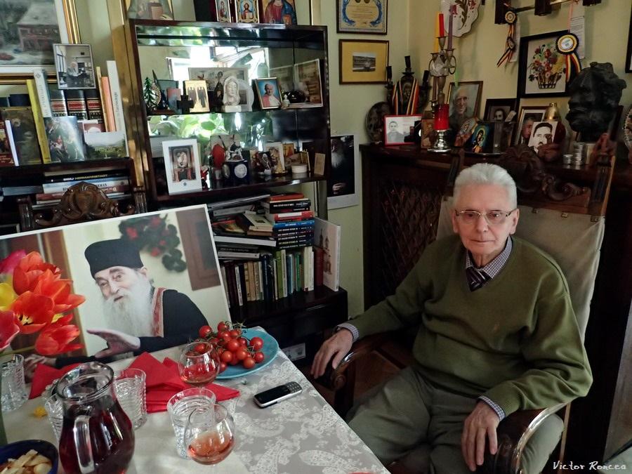Prof. Radu Ciuceanu la 88 de ani - Foto Victor Roncea