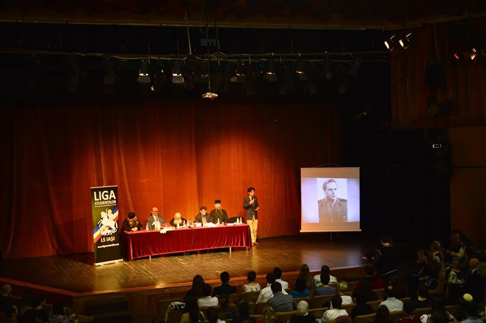 Conferinta Liga Studentilor Iasi Sfintii Inchisorilor Aprilie 2016 - M Vulcanescu