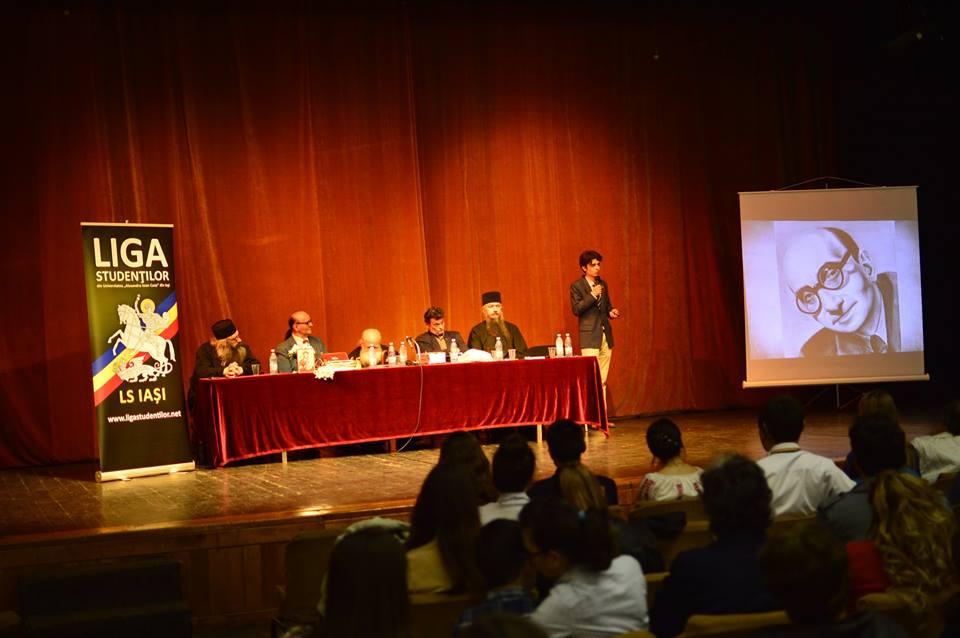Conferinta Liga Studentilor Iasi Sfintii Inchisorilor Aprilie 2016 - Radu Gyr