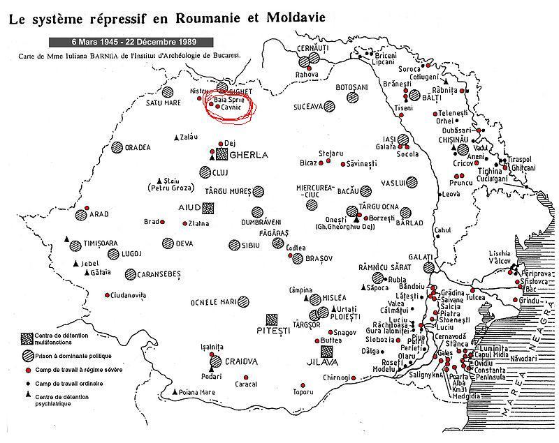 Gulag Romania Baia Sprie Parintele Justin Parvu