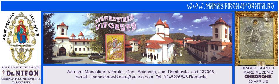 Manastirea Viforata Ro