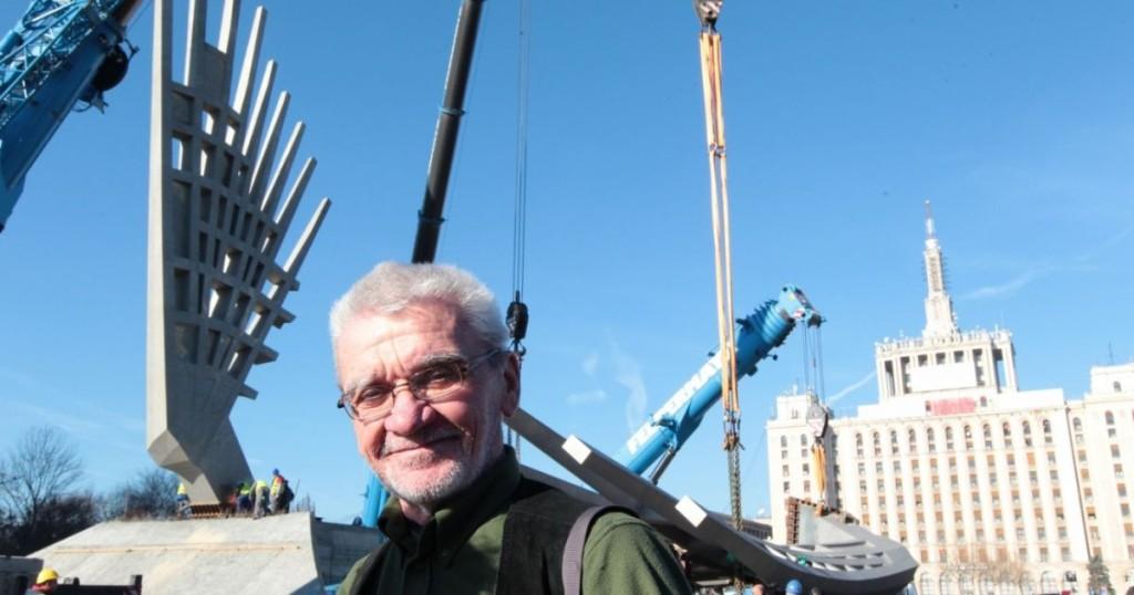 Mihai Buculei si Monumentul Aripi