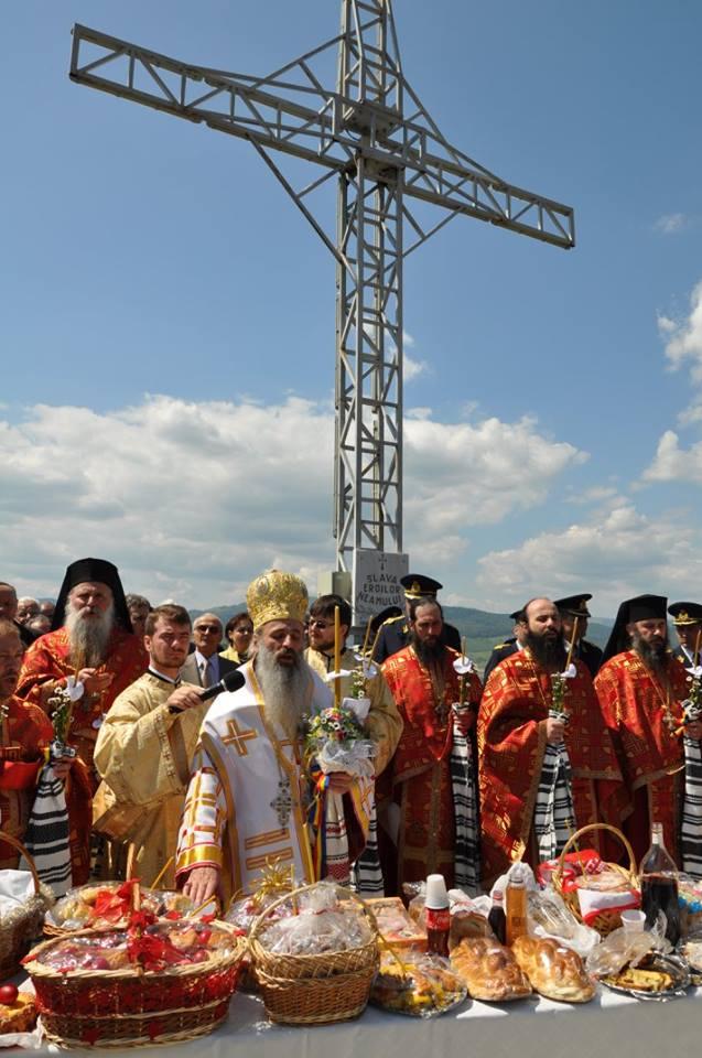 Sfintire Monument Nemtisor conceput de Parintele Justin Parvu 30