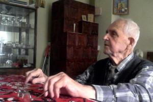 Vasile Malus - Cu Parintele Justin Parvu la Baia Sprie