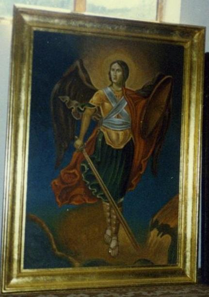 Icoana-istorica-a-Sf.-Arhanghel-Mihail - Miscarea Legionara
