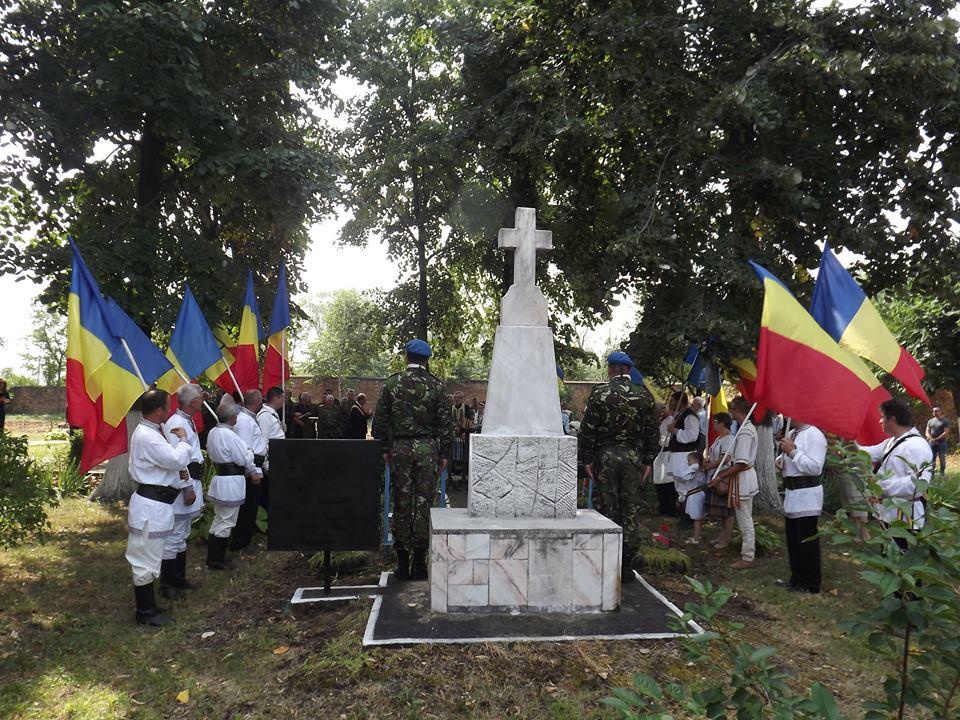 Comemorarea detinutilor politic - Targusor 2016 - Militari - Tricolor